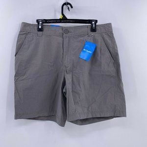 Columbia birch forest shorts flat front sz 36 NWT